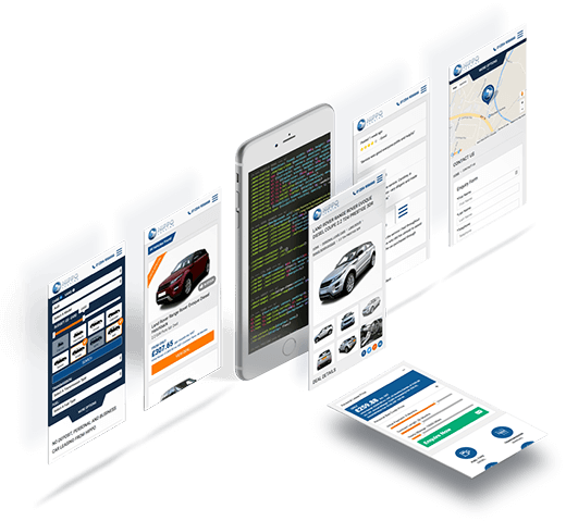 bespoke responsive automotive web design